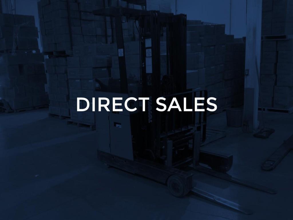 1 - direct sales