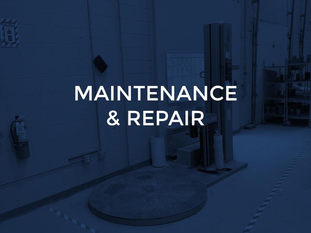 6 - maintenance and repair